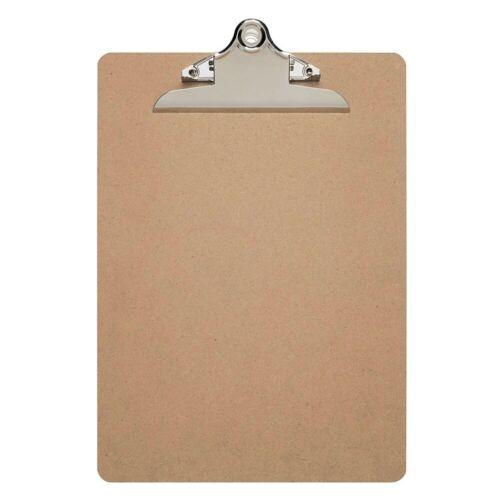 Maul Klemmbrett Schreibplatte DIN A4 Hartfaser Schreibbrett Schreibunterlage