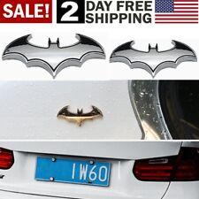 Batman Silver Chrome Dark Knight Mask Car Motorcycle Emblems Badge Decal Sticker