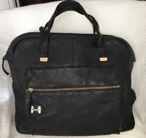 6dc5a433a1 Image is loading Halston-Heritage-North-South-Downtown-Tote-Bag-Purse-