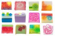 *Bomb Cosmetics Handmade Vegan Friendly Soap Soaps PH Neutral Luxury 125g Slice*