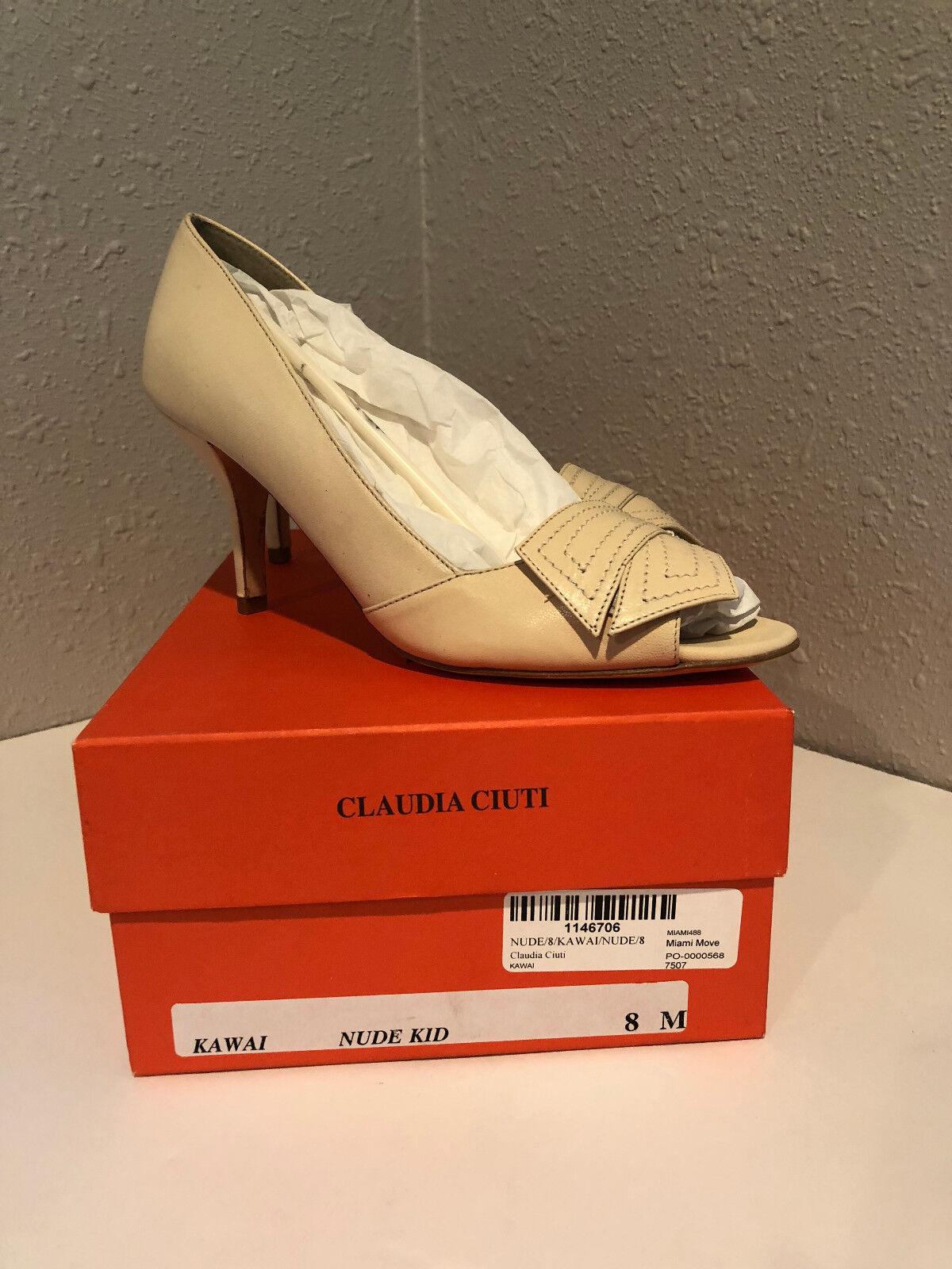 Claudia Ciuti Ciuti Ciuti Tacones Talla 8 Desnuda Niño Marfil clásico para mujer de moda Zapatos de salón  Tienda de moda y compras online.
