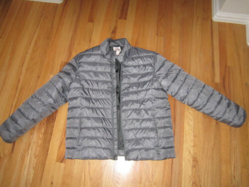 Mossimo Xl Grå Style Jacket Co Unisex Puffy Excellent Supply Størrelse H40qrwH
