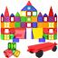 Magnetic-Tiles-57-Piece-Construction-Toy-Set-Kids-Building-Blocks-3D-Puzzle-UK thumbnail 1