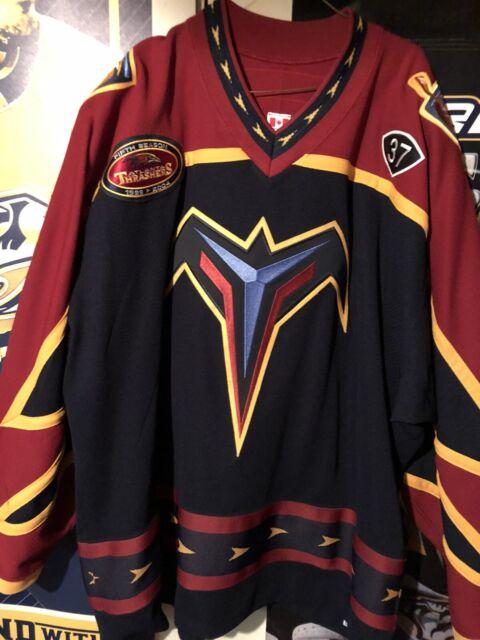 Tomas Kloucek NHL game worn Atlanta Thrashers KOHO jersey MeiGray COA