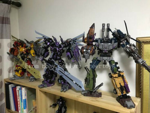 Jinbao Bruticus Decepticons K.O Oversized Warbotron Toy Cool UPS Sent