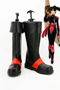 Details About Inuyasha Sango Cosplay Shoes Anime Boots Custom Made Free Shipping