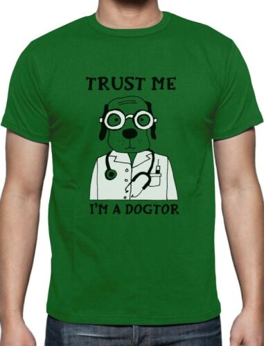 Trust Me I/'m A Dogtor Funny Veterinarian Dog Lovers Gift T-Shirt Animal Lovers