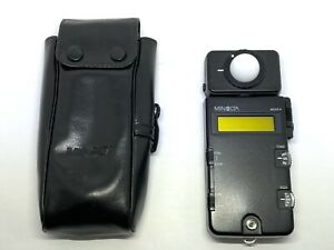[NEAR MINT in CASE] Minolta Flash Meter III Exposure Light meter From JAPAN #719