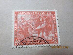 SBZ-spezial-1949-seltener-Plattenfehler-MiNr-230-I-gestempelt-320-Pruefgarant