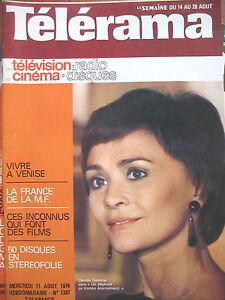 1387-DANIELE-DELORME-LOUIS-JOUVET-TOURGUENIEV-FRITZ-LANG-VENISE-TELERAMA-1976