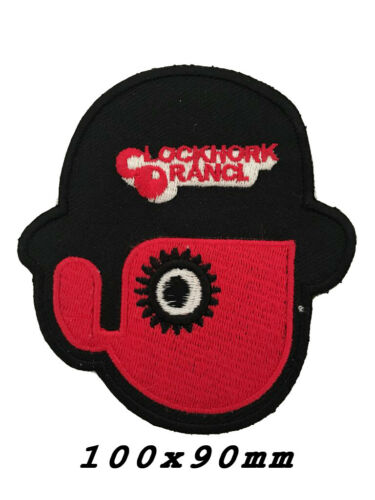 embroidered CLOCKWORK ORANGE Droogs iron on sew on jacket badge patch A114