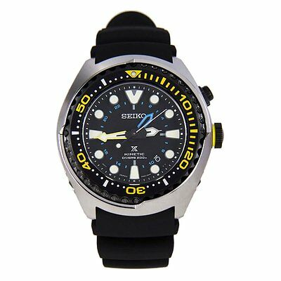 Seiko Mens Analog Sport Black Watch SUN021P1 SUN026P1 SUN028P1