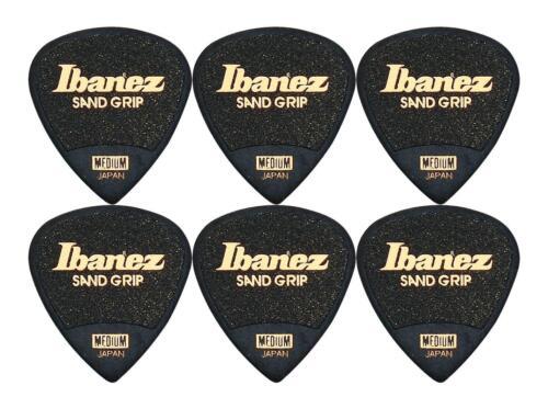 Ibanez PPA16MSG-BK Grip Wizard Triangle 6 E-Gitarre Plektren Plecs Plektrum Set