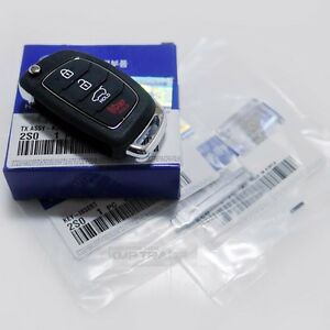 Oem Keyless Entry Fob Folding Key Remote Control Blank For