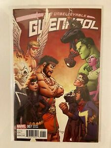 Unbelievable Gwenpool #7 Raney Champions Variant Cover NM