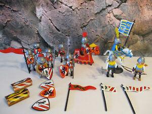 Caisse et tonneaux forme 7 Playmobil ref 3