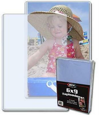 """New CBG 6x9  Rigid Toploaders For Photos Prints /& Postcards up to 6/"""" x 9/"""" 2"""