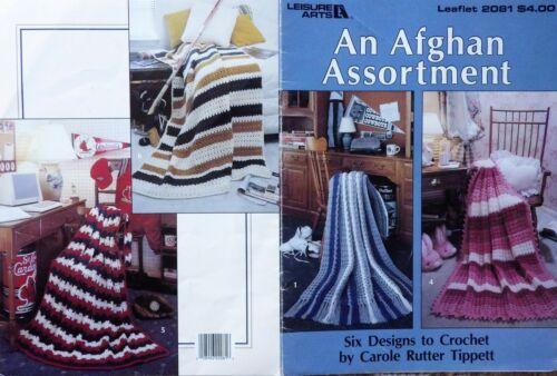 Knit /& Crochet Patterns **You Choose AFGHANS PILLOWS RUGS Crochet