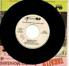RICCARDO FOGLI  VIOLA VALENTINO disco 45 giri PROMO JUKE BOX made in ITALY