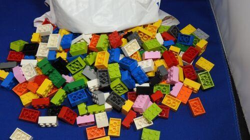 Bulk Lot of 500 Lego Bricks 2x3 Assorted Colors LOT 1