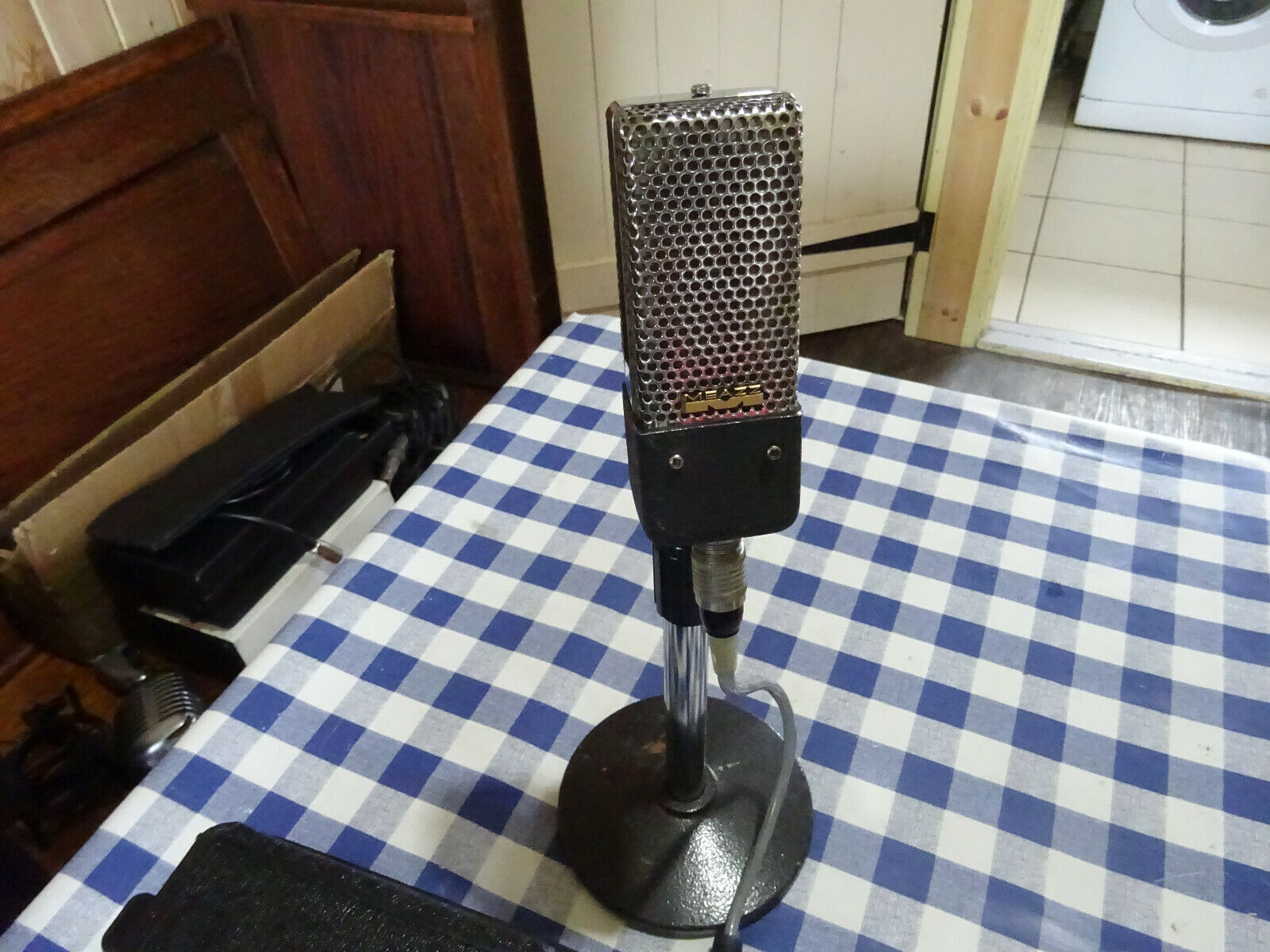Rare Vintage Ribbon Microphone From Meazzi. The Italian Job