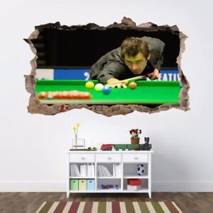 Halloween Movie Decal 3D Smashed Wall Sticker Home Decor Art Mural Horror J1338