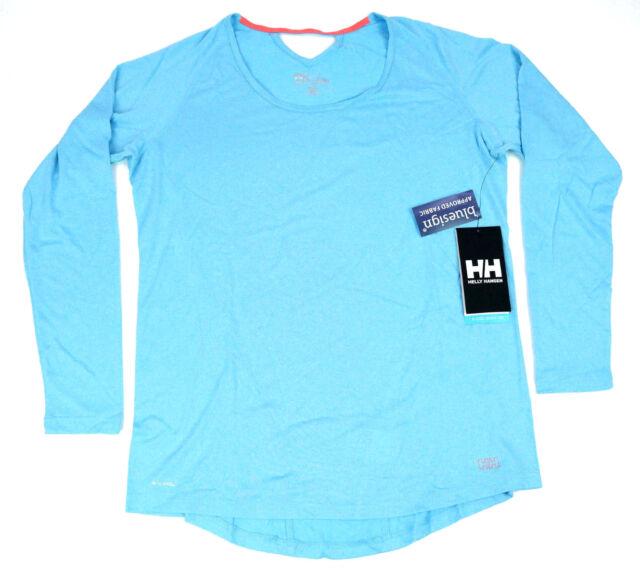 nowy styl życia Data wydania: amazonka Helly Hansen Womens Top Activewear XL Versatile VTR Training Long Sleeve  Blue
