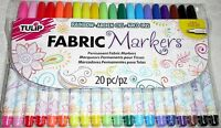 TULIP FABRIC MARKERS 20 PERMANENT MODEL 28976 Craft Supplies