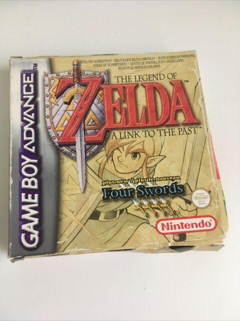 Legend of Zelda Link To The Past Four Swords Game Boy Advance