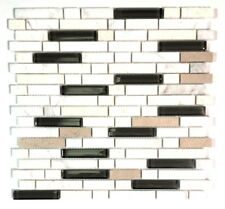 Dal-Tile 58RANDMS1P-SA60 Butternut EMPERADOR Blend Stone Radiance Tile 3 x 8