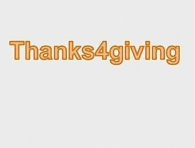 thanks4giving