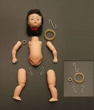 """8"""" & 10, 14"""" Stringing Repair Kit Hooks Head Legs Arms Made For MA Dolls Bands"""