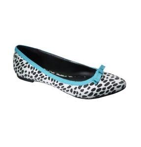 Women-039-s-Xhilaration-Suede-Pointed-Toe-Ballet-Flat-Size-9