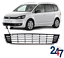 NEW VW CADDY TOURAN 2010-2015 FRONT BUMPER LOWER CENTER GRILL WITH CHROME TRIM