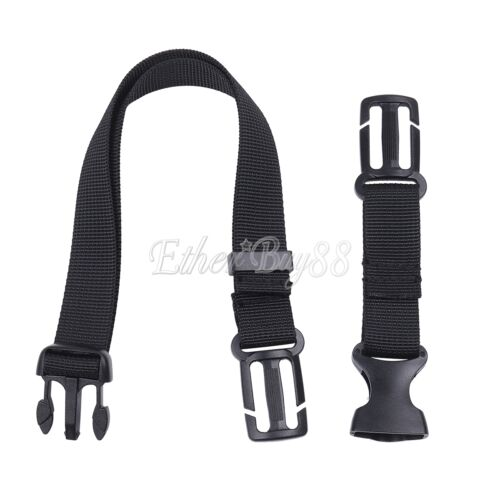 Adjustable Nylon webbing Packing Sternum Strap Backpack Chest Harness Open Loop
