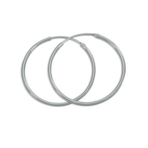 Sterling Silver Hoops//Sleepers //Earrings In Sizes 8mm-45mm Sets Also Available