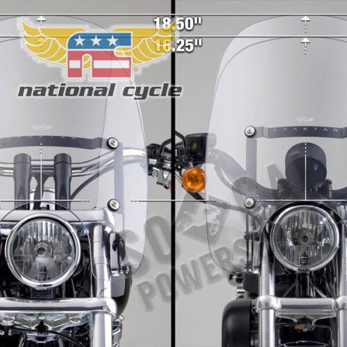 1993-2005 Harley-Davidson FXDL Dyna Low Rider Spartan Quick Release Windshields