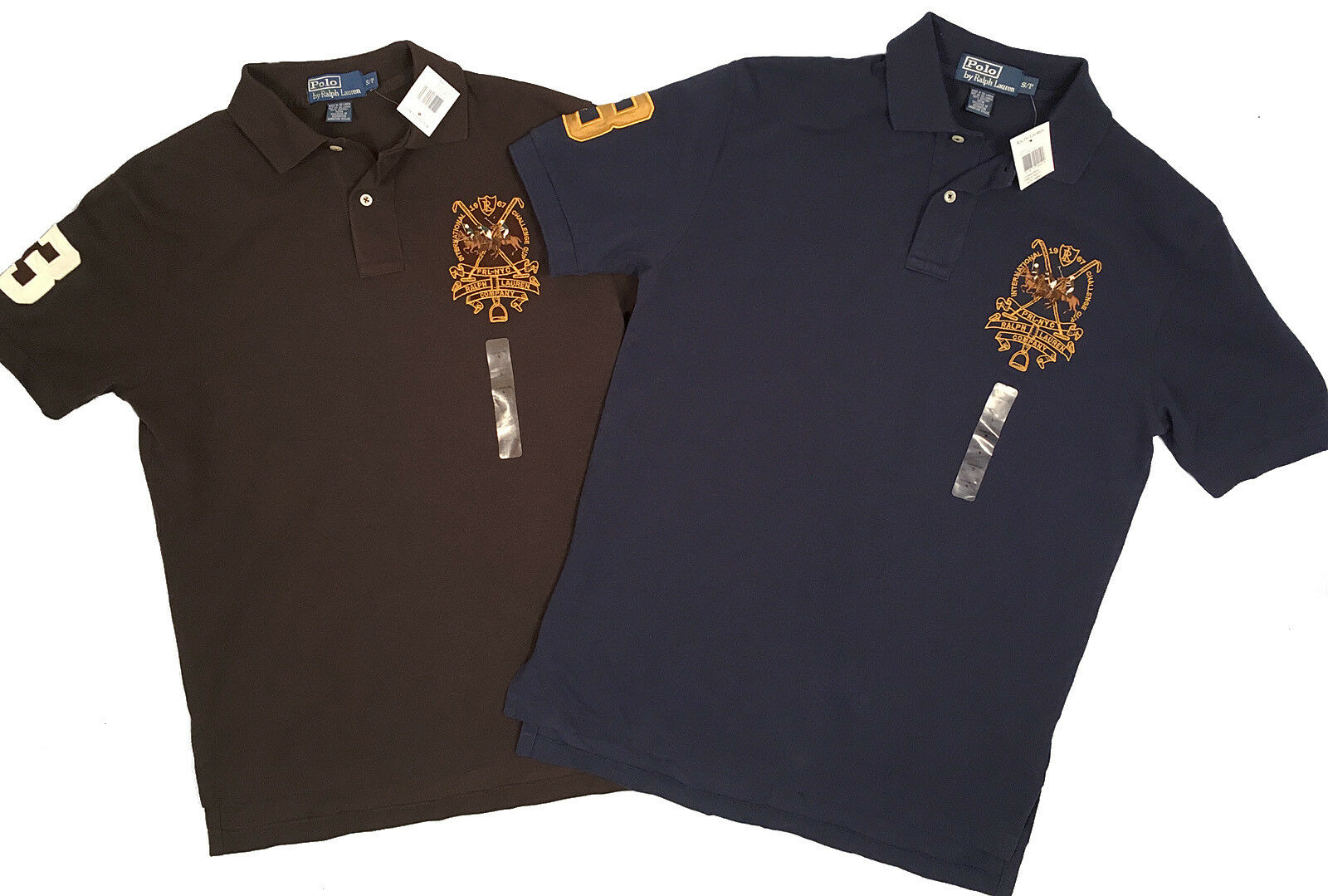 NEW  Polo Ralph Lauren Polo Shirt   Classic Fit   5 colors  Big Pony Match