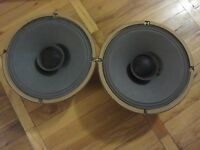 PAIR№2 of LEGENDARY HI-END FULLRANGE Soviet Speakers 4A-28, 10 inch, LOMO, KINAP