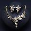 Fashion-Boho-Crystal-Pendant-Choker-Chain-Statement-Necklace-Earrings-Jewelry thumbnail 68