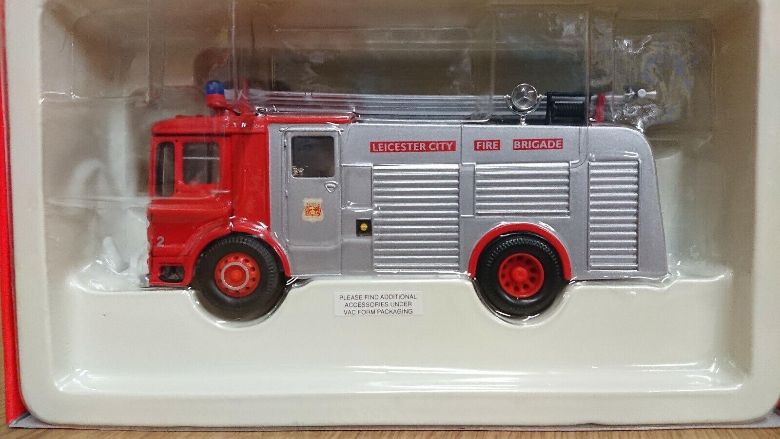 Corgi CC10304 999 AEC Leicester City Fire Engine Ltd Edition No. 0002 of 5000