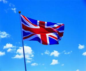 Large 5 x 3 ft Union Jack UK Great Britain British Flag Team United Kingdom New