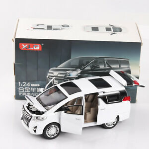 1-24-Scale-Toyota-Alphard-Diecast-Model-Car-Toy-Collection-Limousine-New-in-Box