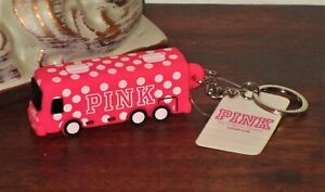 Victoria/'s Secret PINK Bus Keychain NWT