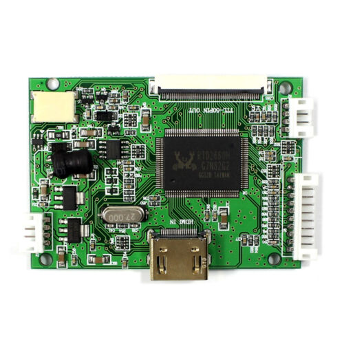 """HDMI LCD Controller Board 4.3/"""" 480X272 AT043TN24 LCD With Remote Control"""
