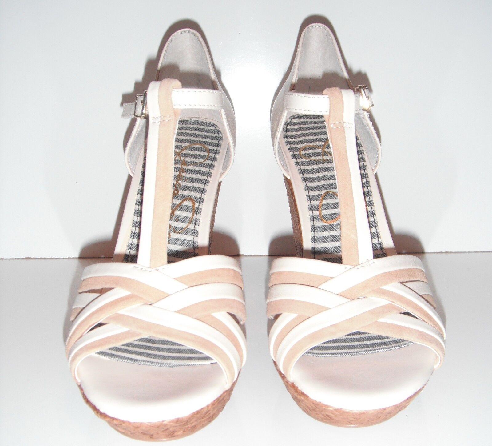 NIB Jessica Simpson Calista 9.5M Leder  Sandale sz 9.5M Calista 2c12ef