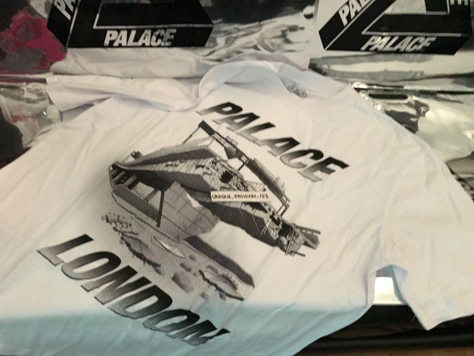 PALACE SKATEBOARDS FW16 LONDON WESTWAY XLARGE Weiß TRI FERG TEE T-SHIRT XL 2016