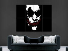 JOKER BATMAN  ART LARGE ART HUGE  GIANT POSTER PRINT !!
