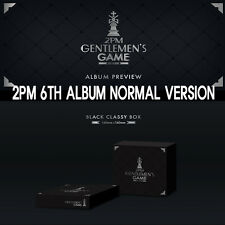 2PM - 6th GENTLEMEN'S GAME CD+PHOTOCARD+PHOTOBOOK + FOLDED POSTER[NORMAL]