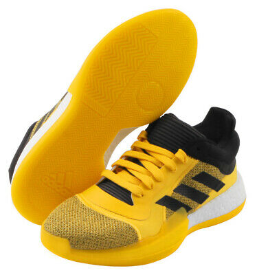 adidas Marquee Boost Low Men's Basketball Shoes Yellow Shoes NWT D96937 | eBay